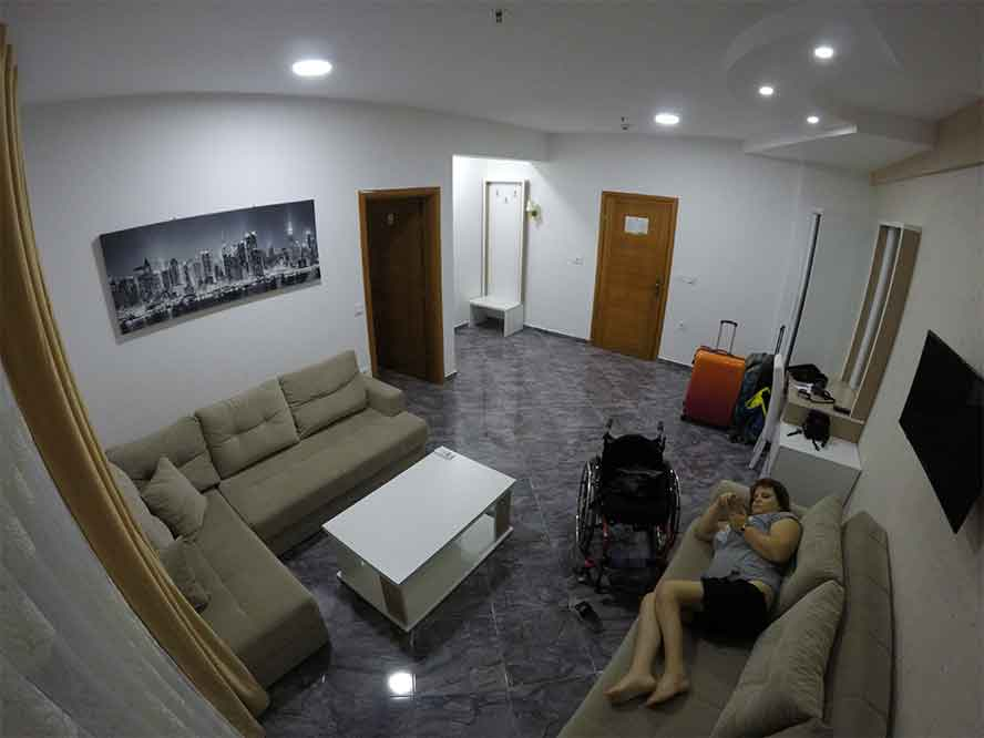 Černá Hora, Ulcinj, Hotel Hoti II