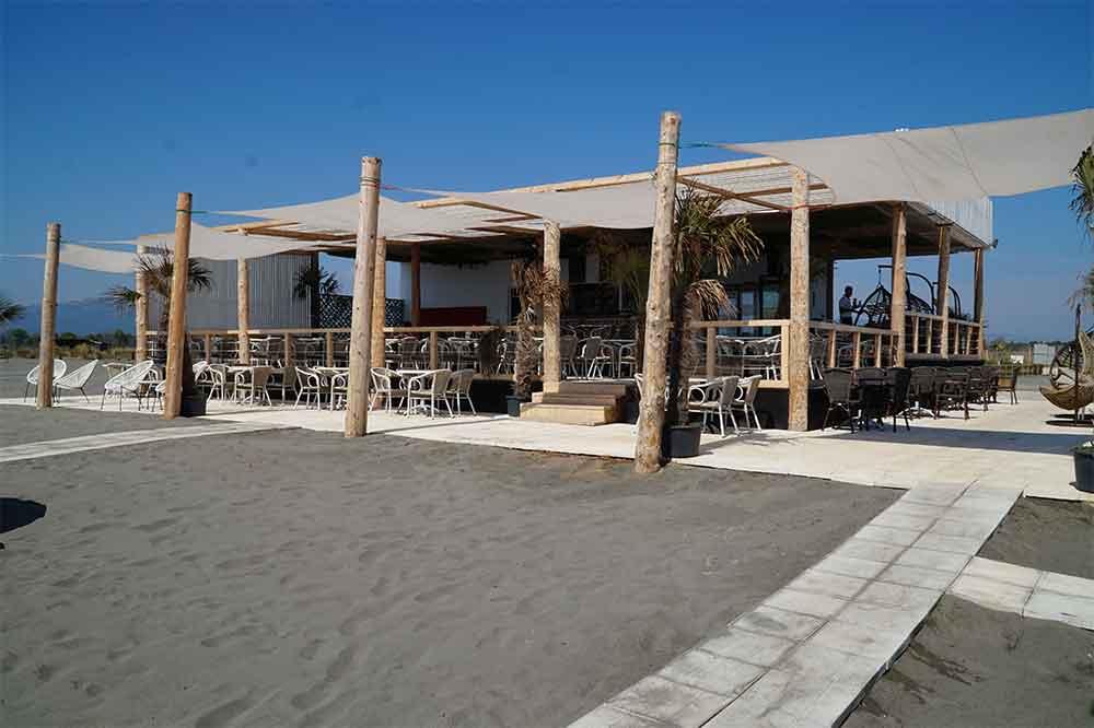 Černá Hora, Ulcinj, Coral Beach je bezbariérová