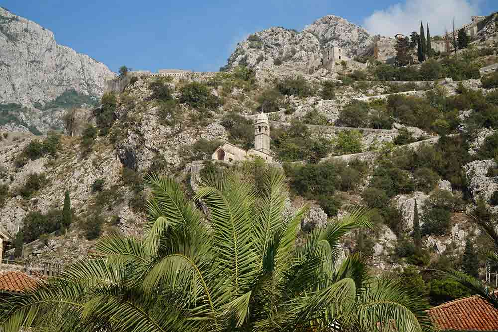 Černá Hora, Kotorská boka, Kotorský záliv, Kotor