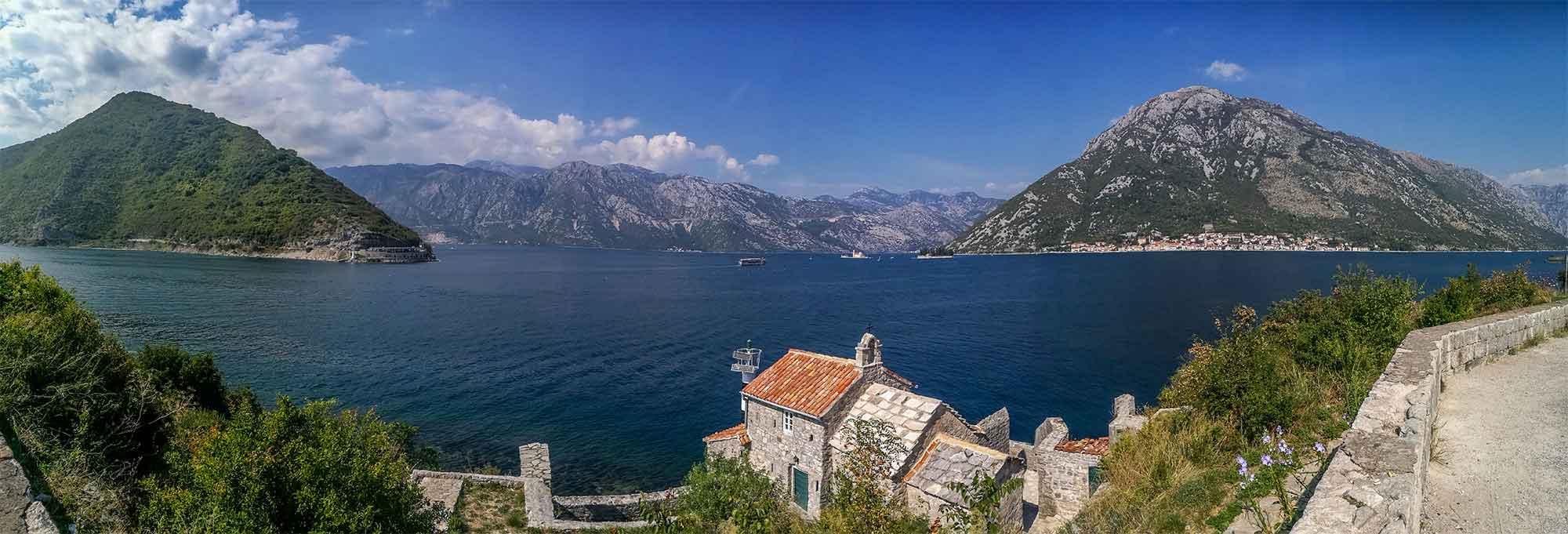 Černá Hora, Kotorská boka, Kotorský záliv