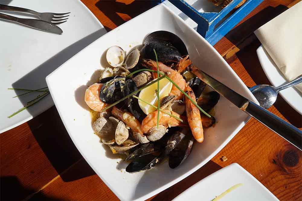 Černá Hora, Ulcinj, Velika Plaža, Najstariji riblji restoran Misko