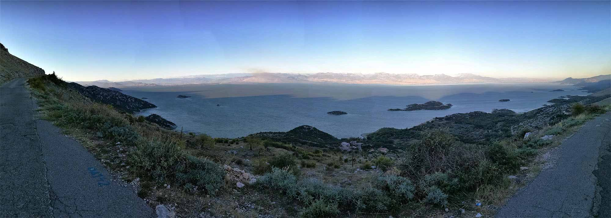 Černá Hora, Skadarské jezero, Virpazar
