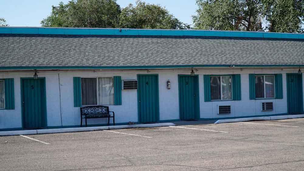 USA, Utah, Green River, motel Budget Inn