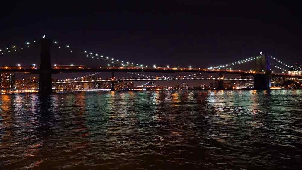 USA, New York, Manhattan, Brooklynský most, Brooklyn