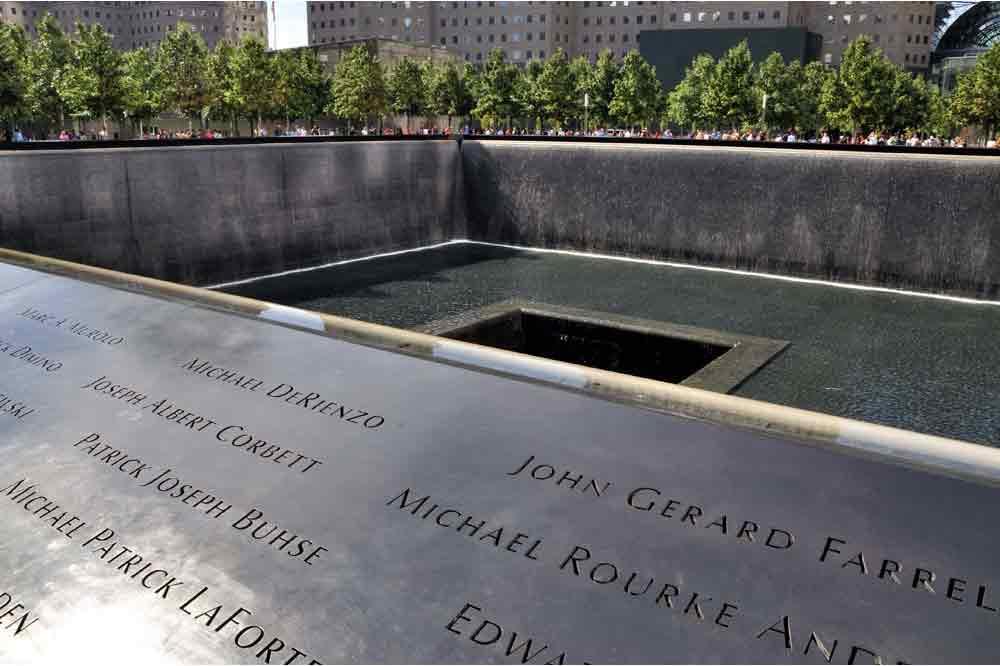 USA, New York, Manhattan, Ground Zero Monument