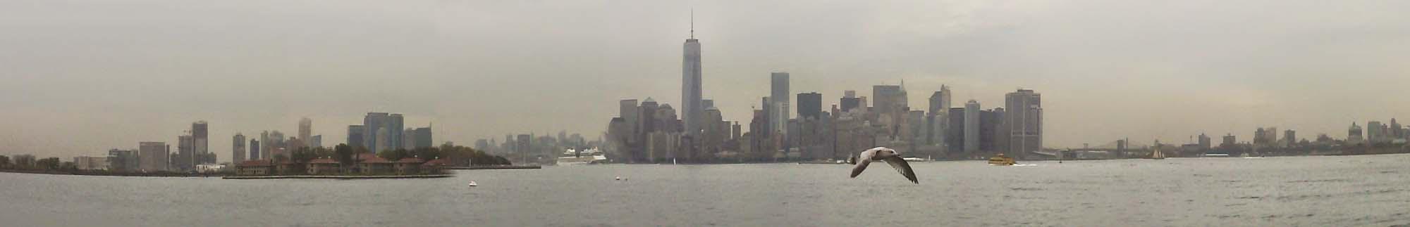 USA, New York, Manhattan, panorama