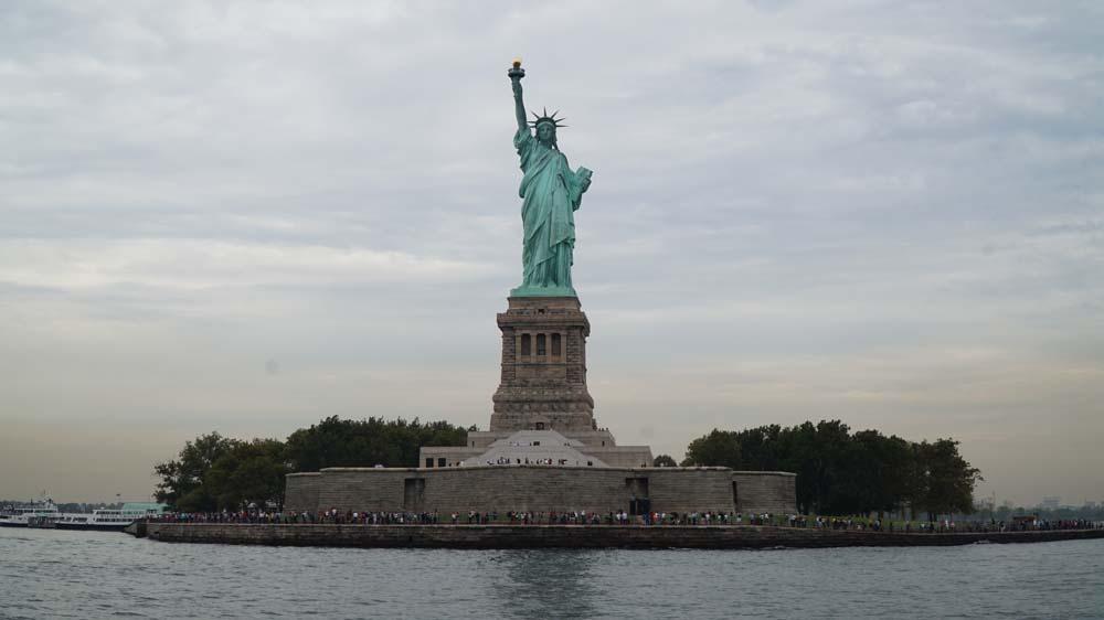 USA, New York, Socha Svobody, Ellis Island